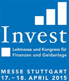 Einladung zur Anlegermesse INVEST 2015